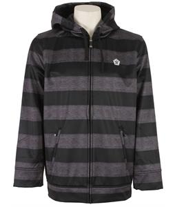 Sessions Backstage Softshell Black Heather Stripe