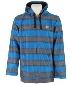 Sessions Backstage Softshell Blue Royale Heather Stripe