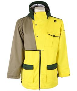 Sessions Benchetler Ski Jacket Yellow