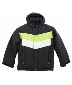 Sessions Blueberry Snowboard Jacket Black/White/Lime