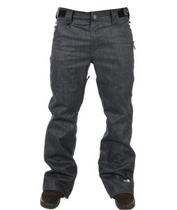 Sessions Brawl Denim Snowboard Pants Denim