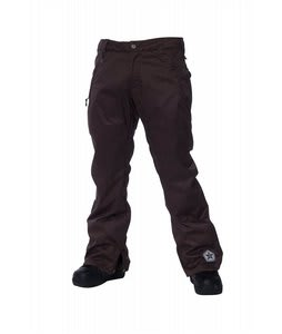 Sessions Brawl Snowboard Pants Brown
