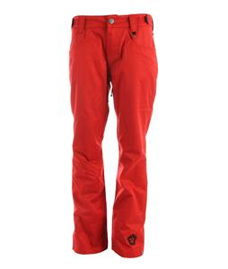 Sessions Brawl Snowboard Pants Red