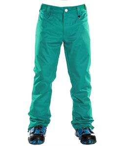 Sessions Brawl Snowboard Pants Teal