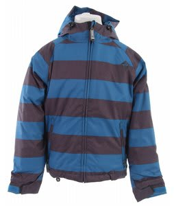 Sessions Bucky Heather Stripe Snowboard Jacket