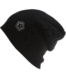 Sessions Cable Beanie Black