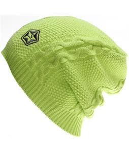 Sessions Cable Beanie Lime