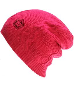 Sessions Cable Beanie Pink