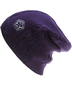 Sessions Cable Beanie Purple