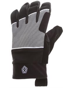 Sessions Candy Gloves Black Mini Stripe