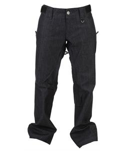 Sessions Chase Denim Snowboard Pants Indigo