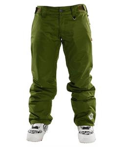 Sessions Chase Snowboard Pants Olive