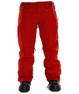 Sessions Chase Snowboard Pants Red