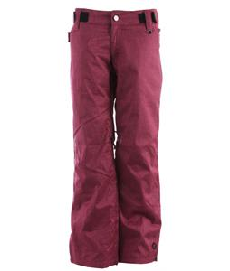 Sessions Chase Heather Snowboard Pants Pink Heather