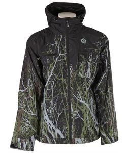 Sessions Commander Timber Snowboard Jacket Black Timber