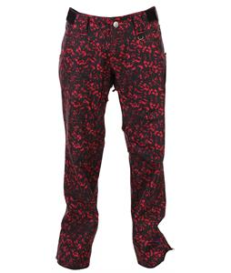 Sessions Zero Crackle Snowboard Pants Pink Crackle