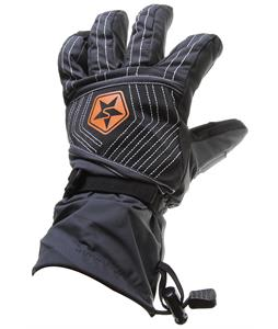 Sessions D3O Gauntlet Gloves Black