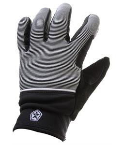 Sessions Dazed Gloves Black Mini Stripe