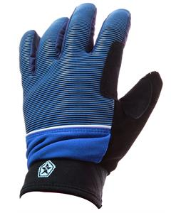 Sessions Dazed Gloves Blue Royale Mini Stripe