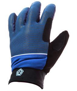 Sessions Dazed Gloves Blue Royale Mini Stripe
