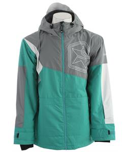 Sessions Decon Colorblock Snowboard Jacket Grey