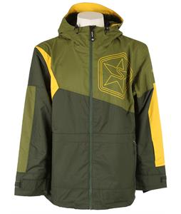 Sessions Decon Colorblock Snowboard Jacket Olive