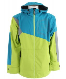 Sessions Decon Colorblock Snowboard Jacket Bright Blue 