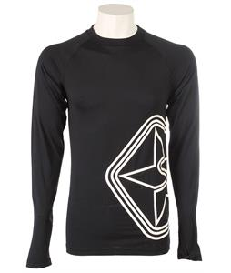 Sessions Diffusion Epic Crew Baselayer Top Black