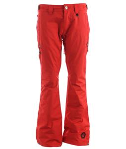 Sessions Envy Snowboard Pants Red