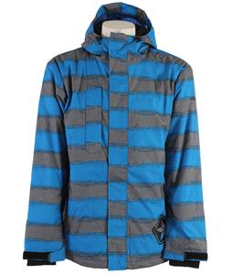 Sessions Evolution Heather Stripe Jacket Blue Heather Stripe