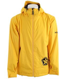 Sessions Evolution Snowboard Jacket Yellow