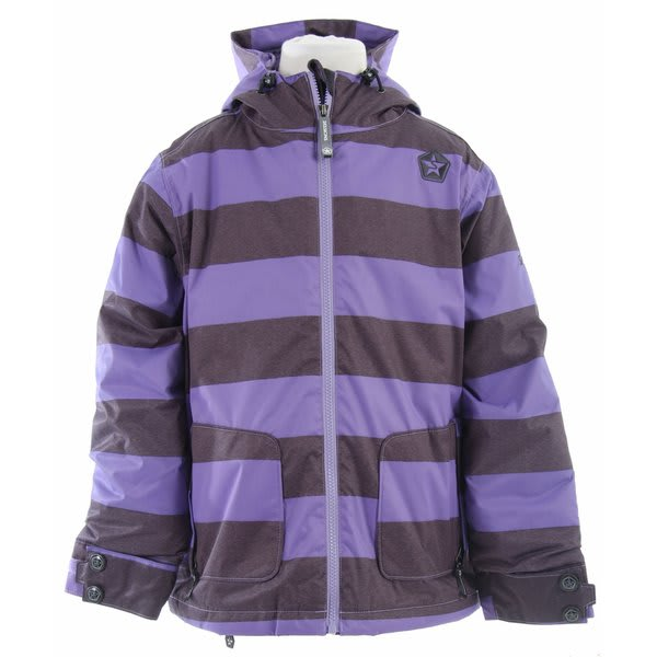 Sessions Evolve Heather Stripe Snowboard Jacket