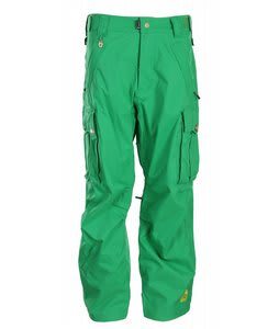 Sessions Flight Ski Pants Turf Green