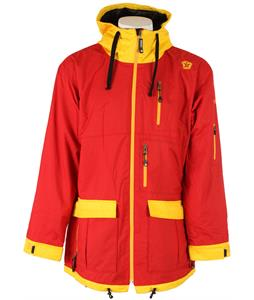Sessions Form Snowboard Jacket Red
