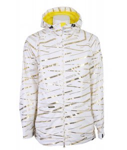 Sessions Fullon Snowboard Jacket Studio White Zip It
