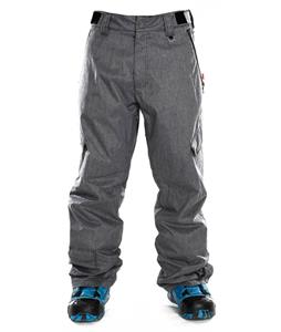 Sessions Gridlock Heather Snowboard Pants Grey Heather