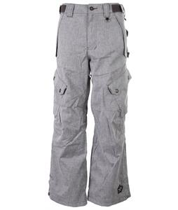 Sessions Gridlock Heather Snowboard Pants Heather Grey