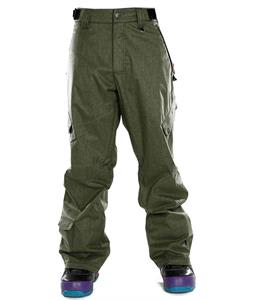 Sessions Gridlock Heather Snowboard Pants Olive Heather