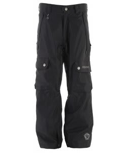 Sessions Gridlock Snowboard Pants Black