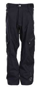 Sessions Gridlock Snowboard Pants Black Magic