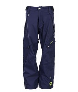 Sessions Gridlock Snowboard Pants Shadow Blue
