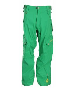 Sessions Gridlock Snowboard Pants Turf Green