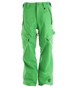 Sessions Gridlock Snowboard Pants Kelly Green