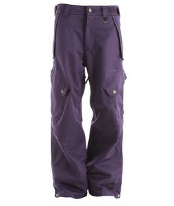Sessions Gridlock Snowboard Pants Purple