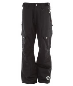 Sessions Gridlock Shell Snowboard Pants Black 