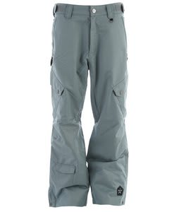 Sessions Gridlock Shell Snowboard Pants Grey