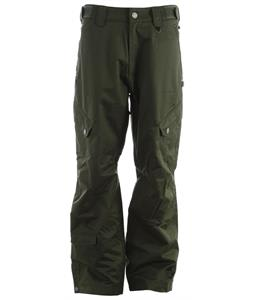Sessions Gridlock Shell Snowboard Pants Pine