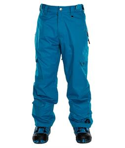 Sessions Gridlock Shell Snowboard Pants Bright Blue