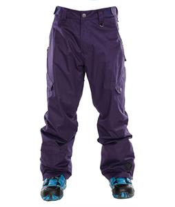 Sessions Gridlock Shell Snowboard Pants Purple