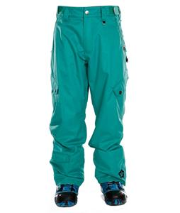 Sessions Gridlock Shell Snowboard Pants Teal